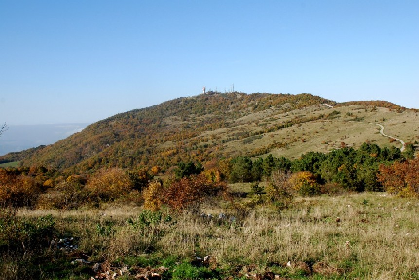 Altopiano in autunno