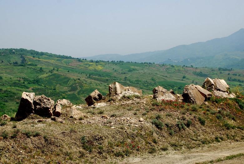 Erosione calanchi