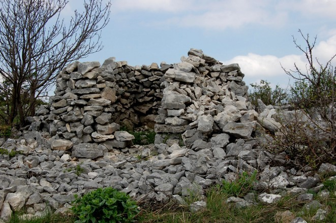 Capanna in pietra