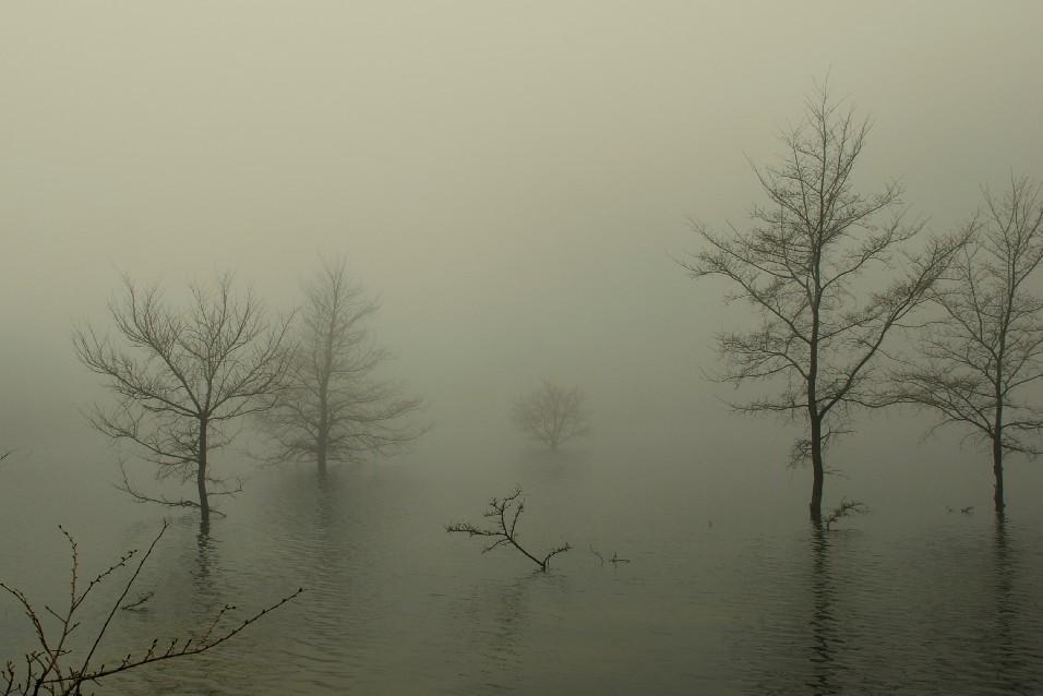 Lago Nero in inverno